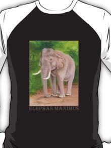 Asian Elephant (Elephas maximus) T-Shirt