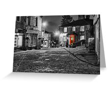 Haworth West Yorkshire - HDR Greeting Card