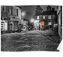Haworth West Yorkshire - HDR Poster