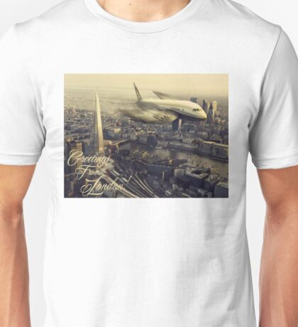 Greetings From London!  Unisex T-Shirt