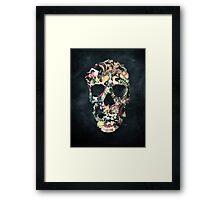 Vintage Skull Framed Print