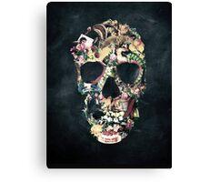 Vintage Skull Canvas Print
