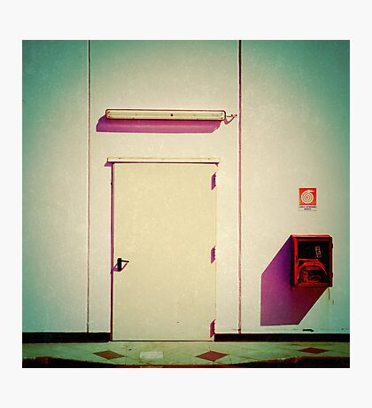 Freaky supermarket backdoor Photographic Print