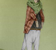 Hipster Meerkat by daamsie