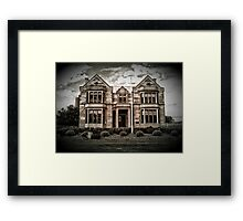 Gothic Revival for the Royal Engineers - HDR Framed Print