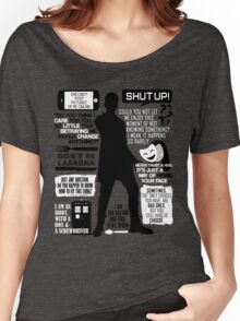 Doctor Who - 12th Doctor Quotes Women's Relaxed Fit T-Shirt