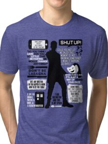 Doctor Who - 12th Doctor Quotes Tri-blend T-Shirt