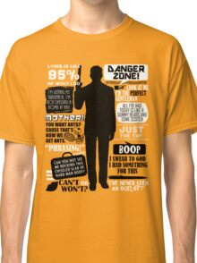 Archer - Sterling Archer Quotes Classic T-Shirt