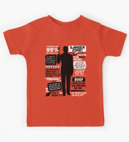 Archer - Sterling Archer Quotes Kids Tee