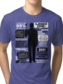 Archer - Sterling Archer Quotes Tri-blend T-Shirt