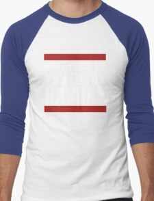 """""""Don't touch me, you filthy casual!"""" Men's Baseball ¾ T-Shirt"""