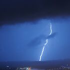 Airport and the thunderstorm 2 by Peter Holland