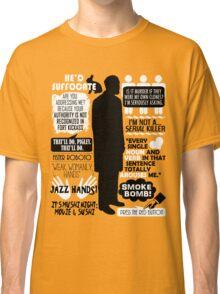 Archer - Dr. Algernop Krieger Quotes Classic T-Shirt