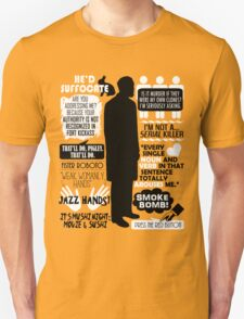 Archer - Dr. Algernop Krieger Quotes T-Shirt
