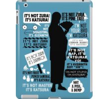 Gintama - Katsura Kotaro Quotes iPad Case/Skin