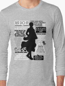 Gintama - Sakata Gintoki Quotes Long Sleeve T-Shirt