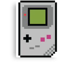 8 bit Gameboy Classic Canvas Print