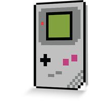 8 bit Gameboy Classic Greeting Card