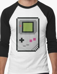 8 bit Gameboy Classic Men's Baseball ¾ T-Shirt