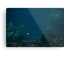 A Spot in the Ocean Metal Print