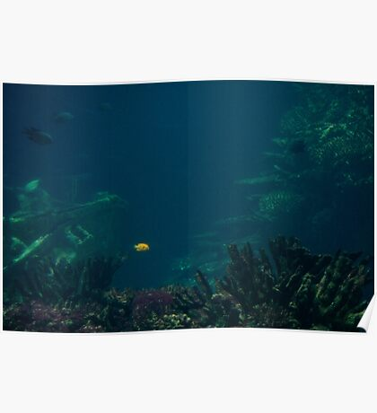 A Spot in the Ocean Poster