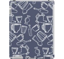 Dishes blue pattern iPad Case/Skin