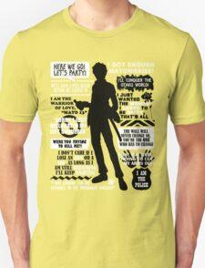 Gintama - Hijikata Toshiro Quotes T-Shirt