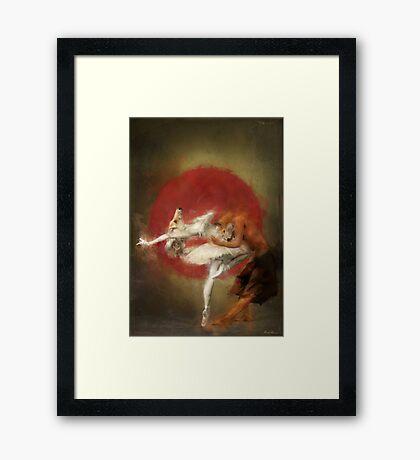 fox ballet Framed Print