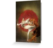 fox ballet Greeting Card