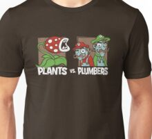 Plants Vs Plumbers Unisex T-Shirt