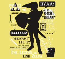 """Legend of Zelda - Link """"Quotes"""" Baby Tee"""