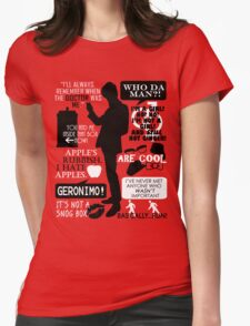 Doctor Who - 11th Doctor Quotes Womens Fitted T-Shirt