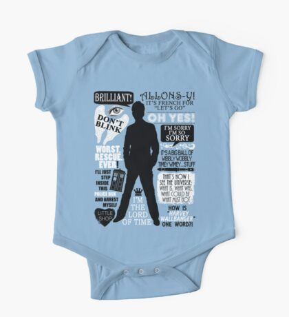 Doctor Who - 10th Doctor Quotes One Piece - Short Sleeve
