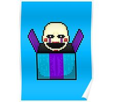 Five Nights at Freddy's 2 - Pixel art - The Puppet in the box Poster