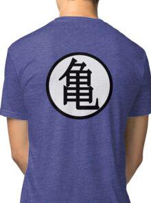 Dragon ball Kame sennin symbol Tri-blend T-Shirt