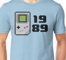 8 bit gameboy 1989 Unisex T-Shirt