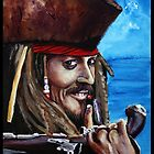 Captain Jack Sparrow by ArtbyJoshua