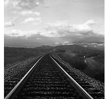 Rail and Road Photographic Print