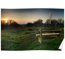 A View From Pex Hill....... Poster