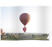 Myanmar - Bagan - Balloons Poster