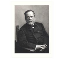 Portrait of Louis Pasteur by Nadar (Date: pre-1885) Art Print