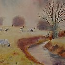 The marsh - Kent - UK by Beatrice Cloake