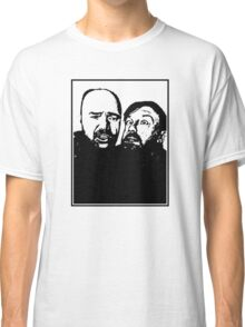 Karl Pilkington and Ricky Gervais Classic T-Shirt