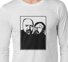 Karl Pilkington and Ricky Gervais Long Sleeve T-Shirt