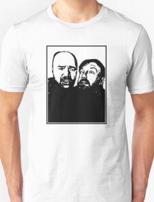 Karl Pilkington and Ricky Gervais Unisex T-Shirt
