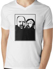 Karl Pilkington and Ricky Gervais Mens V-Neck T-Shirt