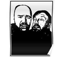Karl Pilkington and Ricky Gervais Poster