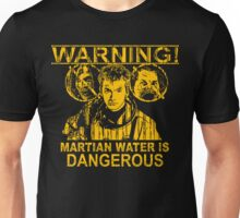 Martian Water Warning Unisex T-Shirt