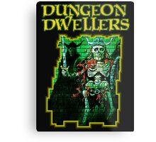 Dungeon Dwellers! Metal Print