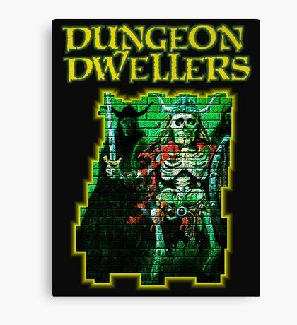Dungeon Dwellers! Canvas Print